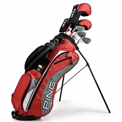 """Ping Moxie I Junior Complete Golf Set Ages 10-11/ Heights 54""""-60"""" Left Handed"""