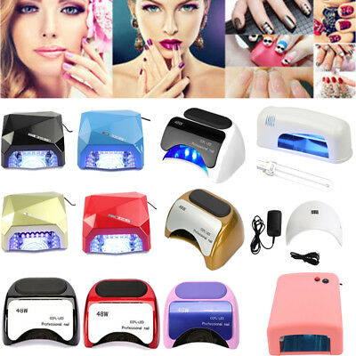 24W/36W/48W UV LED Light Lamp Gel Nail Dryer With Timer Senor For Gel Nails Lamp