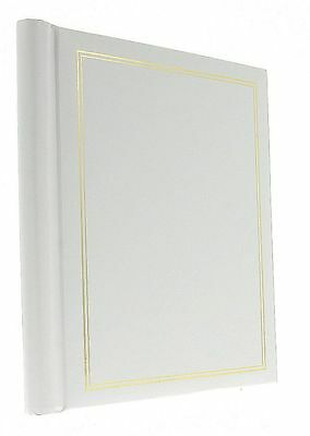 White Classic Vintage Self Adhesive Photo Album 30Sheets / 60Sides Wedding Gift