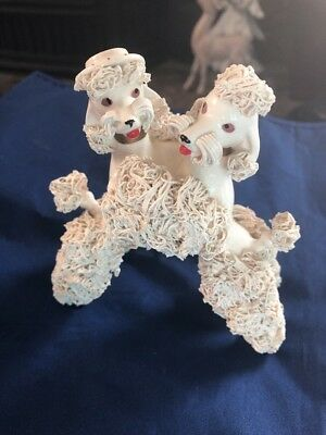Rare Spaghetti Poodles Vintage 50s Collectible  Dancing  Couple