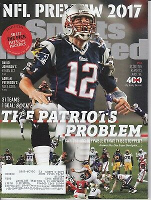 2017 New England Patriots Tom Brady Sports Illustrated magazine NFL Preview