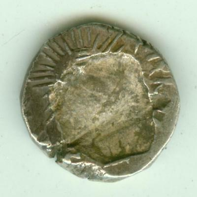 Indore Silver 1/2 Rupee-Lot F4