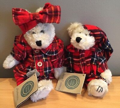 """Boyds Bears INVESTMENT COLLECTIBLES"""" Desdemona and Bianca T. Witebred"""""""