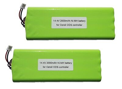 2 x OZRoll Battery Replacement for Smart Drive Roller Shutter Remote Heavy Duty