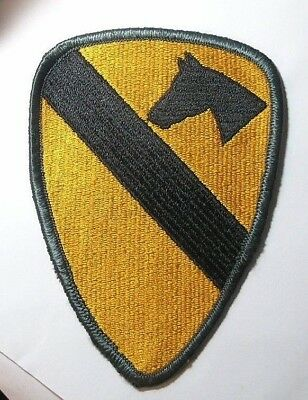 FIRST (1st) Cavalry Division Patch WWII US Army Mid-Century Original Sew-on