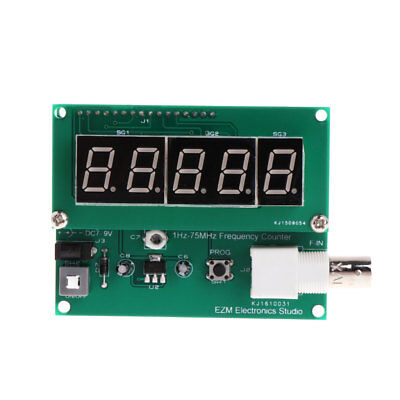 1Hz-75MHz 7V-9V Frequency Counter 50mA Cymometer Module Tester Meter Measurement