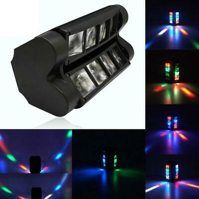 80W RGBW LED Spider Moving Head Stage Lighting Xmas DMX Disco Party DJ Lights