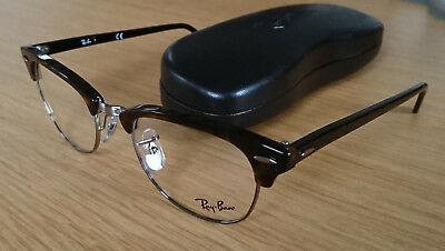 Top! Ray Ban Brillengestell RB 5154 - 2012 Gr. L 51 Clubmaster Fassung NEU