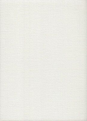 28 count Zweigart Cashel Linen Cross Stitch Fabric 49 x 69cms Pearl Lurex