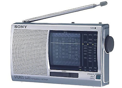 New SONY ICF-SW11 Shortwave Radio FM Stereo MW LM SW (1-9) 12-Band Receiver