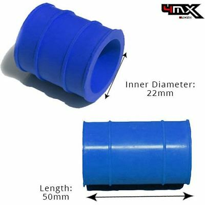 Universal Exhaust Rubber Joint 2 Stroke Blue 22mm