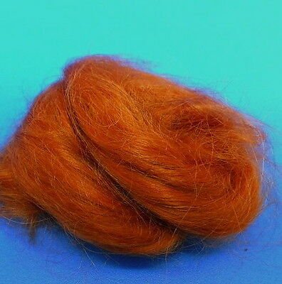 Auburn Dolls Mohair Wigging Hair, Dolls Hair Ideal for 1.12 Scale Miniatures