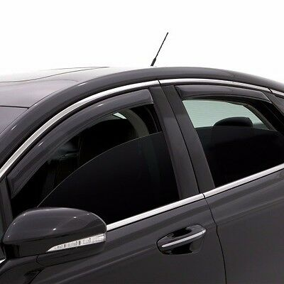 Fits Chevy Equinox 2018-2019 AVS In Channel Window Visors Rain Deflector Guards