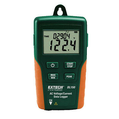 Extech DL150 Datalogger, True RMS AC Voltage/Current
