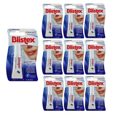 Blistex Lip Relief Cream Lippenbalsam Classic 10 x 6 ml Set