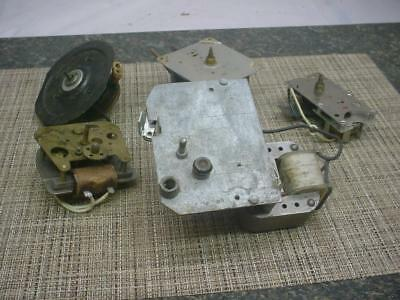 Vintage Electric Clock Movements Parts Repair Sessions  New Haven Synchron E188