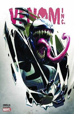 Amazing Spiderman Venom Inc Omega 1 Clayton Crain Comicxposure Variant Nm