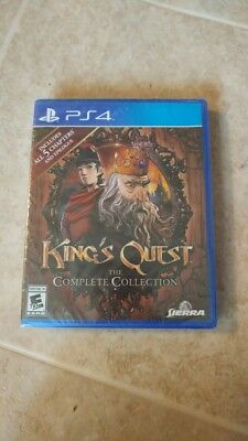 New PS4 King's Quest: Adventures of Graham (Sony PlayStation 4, 2016)