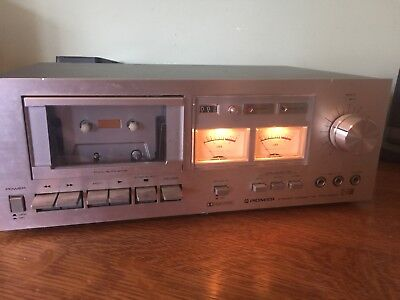 Vintage 1978 Pioneer CT-F500 Dolby Cassette Deck Tape Player