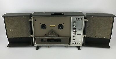 Voice Of Music Tape-O-Matic Model 744 Reel-to-Reel Player - For Parts or Repair