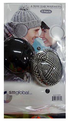 Sm Global 4-way Ear Warmers - 2 Pack - FITS MOST SIZES