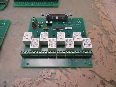 national instruments sc-2062 8-channel relay board [4*B-89]