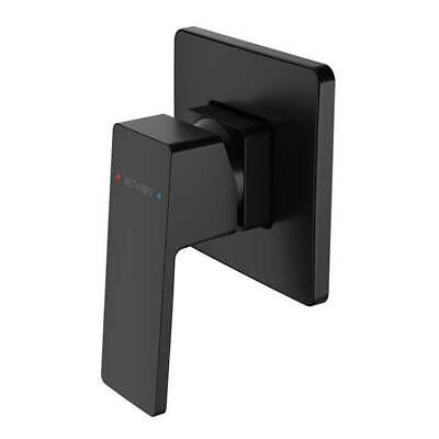 New Shower Wall Mixer Bathroom Mixers Methven Blaze Matte Black 03-9432MBK