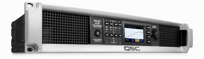 QSC PLD4.2 4-channel 400W Watts Power Amplifier with DSP Amp PLD 4.2