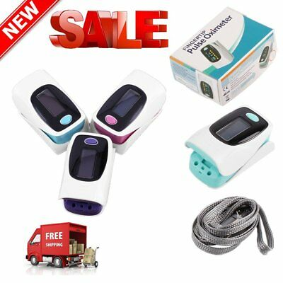 Finger Fingertip Blood Oxygen Meter SPO2 OLED Pulse Heart Rate Monitor Oximeter@