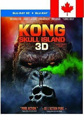 Kong: Skull Island (Bilingual) [3D Blu-Ray + Blu-Ray + UV Digital Copy]