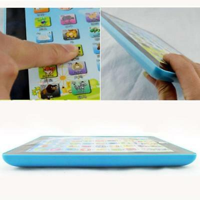 Tablet Pad Computer For Kids Children Gift Learning English Educational Toy DI