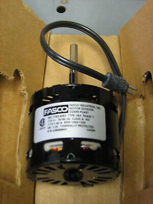 Fasco 7163-4463 Electric 1/20 Hp Blower Motor 115V 1550 Rpm Heatcraft 038688800
