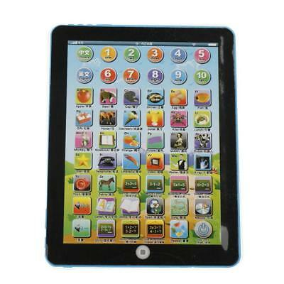 Tablet Pad Computer For Kids Children Gift Learning English Educational Toy B DI