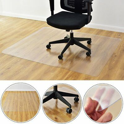 Office Desk Chair Mat For Hard Wood Floor Pvc Clear Protection