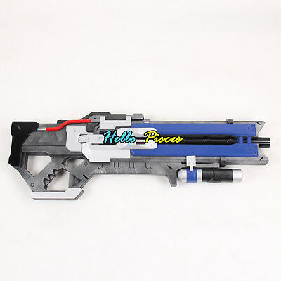 """Exclusive made Anime Overwatch OW 76 Soldier Weapon Gun PVC Cosplay Prop 30"""""""