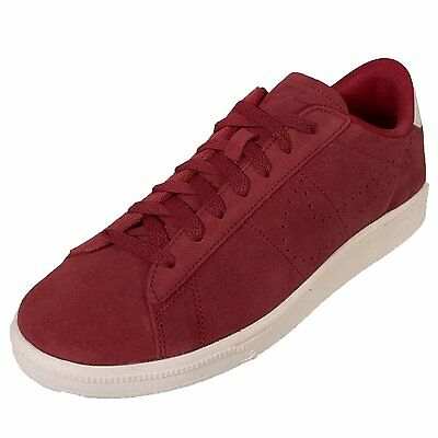 6cc10407b9376e NIKE TENNIS CLASSIC CS Suede Men Sizes Shoes Varsity Red Ivory NEW ...