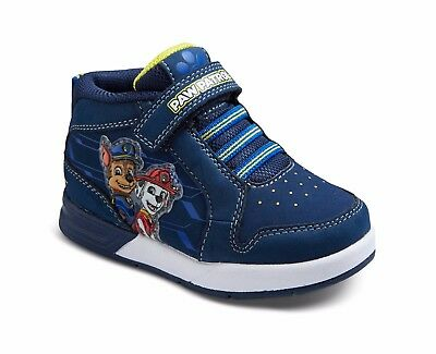 Boys Baby or Toddler Sneakers Paw Patrol Chase Marshall 5 6 7 Light Up Hi Top