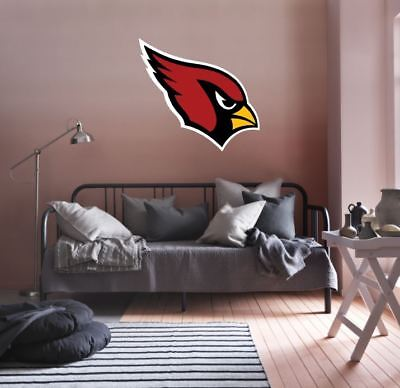 Arizona Cardinals NFL Team Logo Color Printed Decal Sticker Car Window Wall