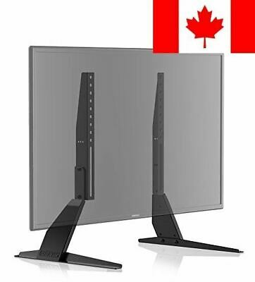 """FITUEYES Universal LCD Flat Screen TV Table Top Stand / Base Mount fits 23"""" t..."""