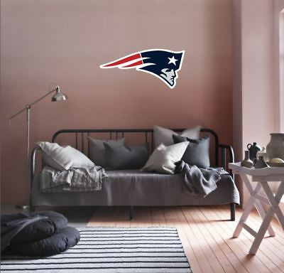 New England Patriots NFL Team Logo Color Printed Decal Sticker Car Window Wall