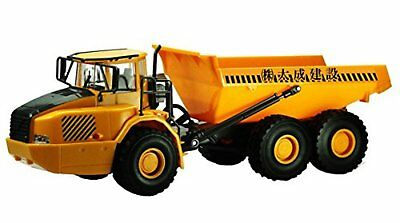 RC construction equipment dump truck (1/28 scale electric radio control) F/S NEW