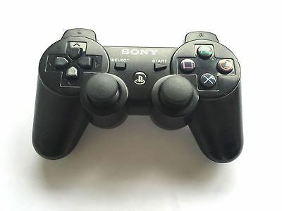 Official Genuine Original Sony Six Axis PS3 Wireless Bluetooth Controller Black