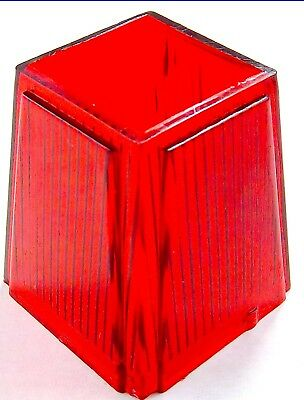 coach light replacement lens red plastic for Peterbilt Kenworth Freightliner