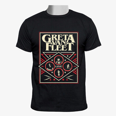 Greta Van Fleet Tour Custom gildan Men Tshirt size M-2XL