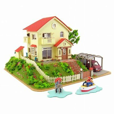 "Sankei miniature art kit MK07-08 ""Studio Ghibli : Sosuke and Ponyo house"" 1/150"