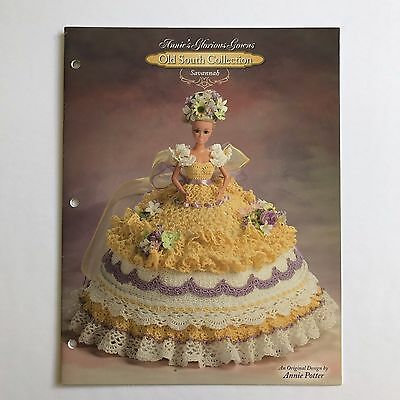 Crochet Doll Clothes Pattern Savannah Old South Collection Annies Glorious Gowns