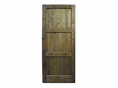 Single Solid Barn Door #D1186