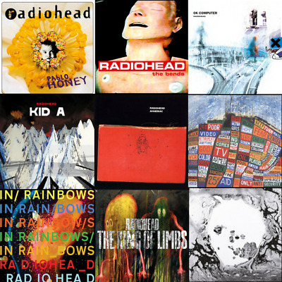 Radiohead - The Complete Vinyl Collection Bundle - 14 LP's - (New & Sealed)