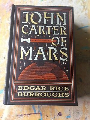 JOHN CARTER OF MARS- 5 NOVELS by EDGAR RICE BURROUGHS Leather Bound