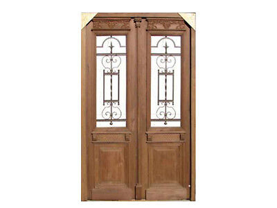 Restored Antique Double Entry Door #A1956